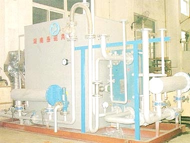Cooling water system of EMS